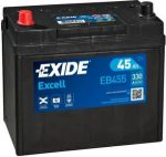 EXIDE Starterbatterie - EXCELL EB455